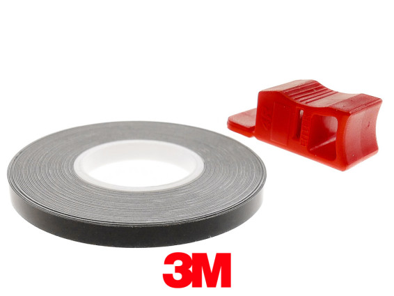 Felgenband 5 mm schwarz 6 m (3M)