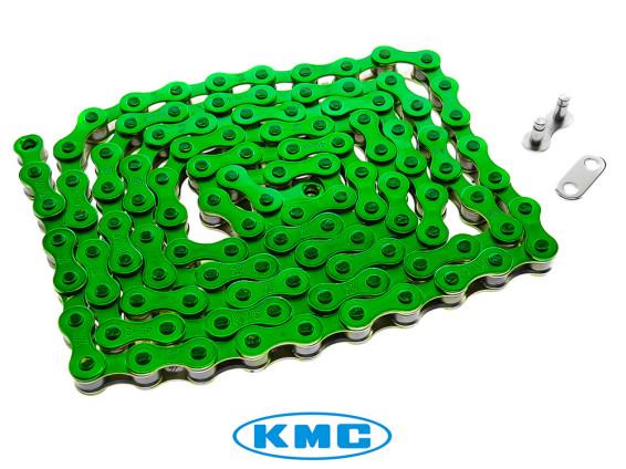 Tretkette grün