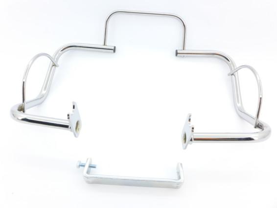Motorschutzbügel chrom Solex