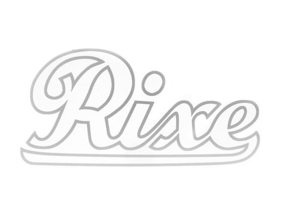 """""""Rixe"""" Wasserabziehbild silber gross"""