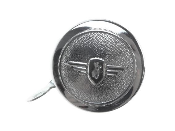 Glocke 'Zündapp' Emblem chrom