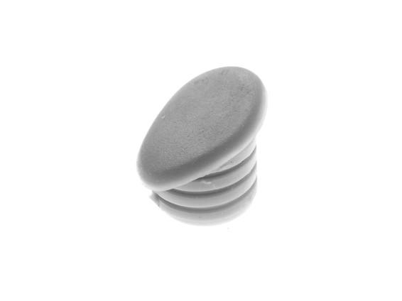 Gummipfropfen Lenkervorbau grau