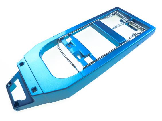 Puch X30 Gepäckträger NOS blau