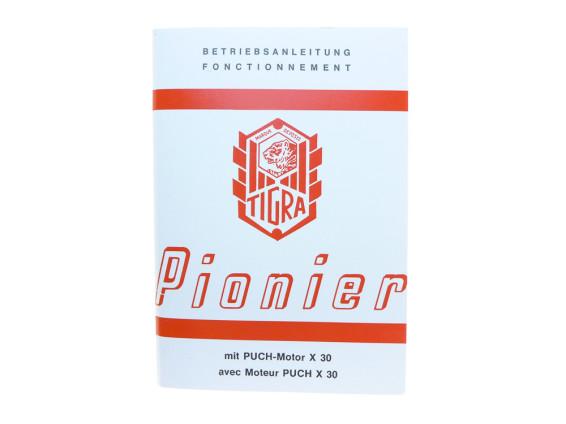 Betriebsanleitung Tigra Pionier mit X30 Motor (Velux)