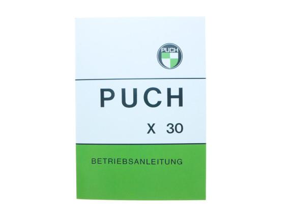 Betriebsanleitung Puch X30 Sport NS/NL