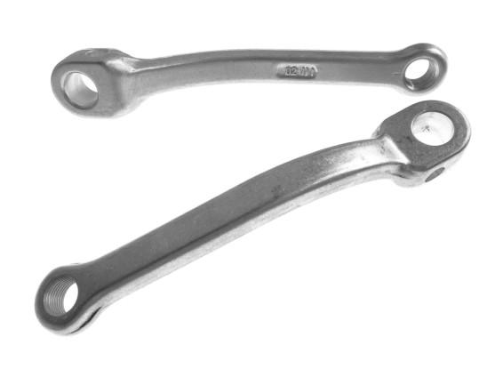 Tretkurbeln universell Aluminium (184 mm) Paar