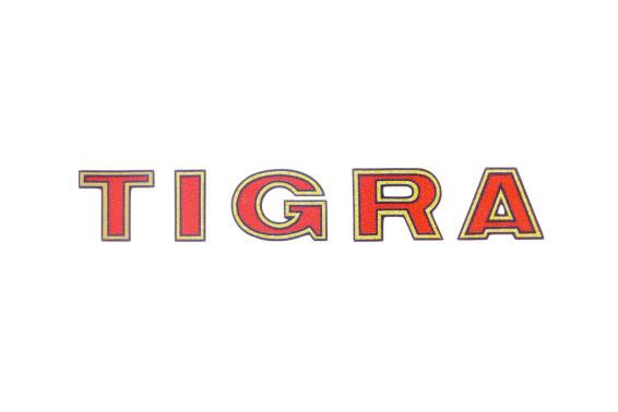 """Tigra"" Aufkleber Oldie (82x13mm)"