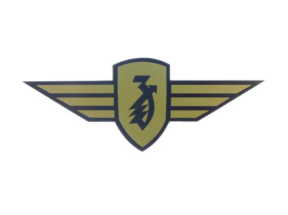 Zündapp Aufkleber Emblem universell