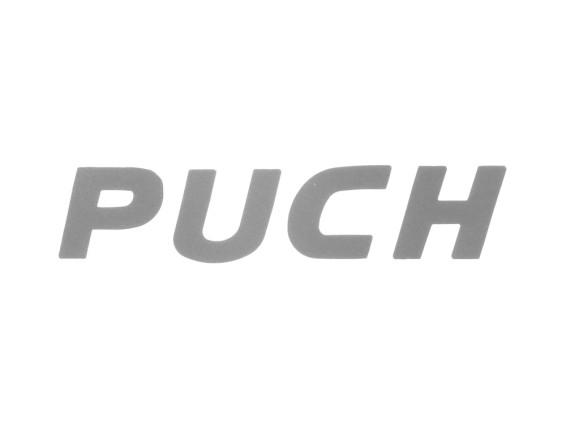 """""""Puch"""" Schriftzug für Textil & Leder"""