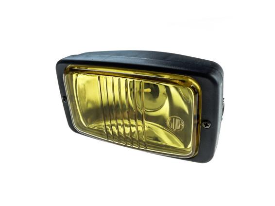 Scheinwerfer eckig (gelbes Glas)