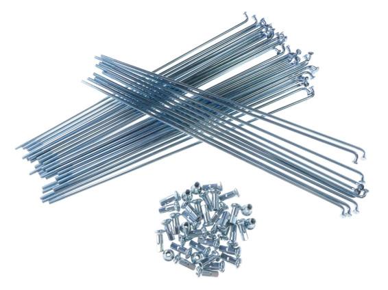 Speichenset Universal Stahl verzinkt 210 mm