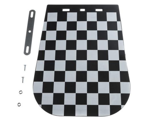 Spritzschutz Lappen gross Zielflaggen Design