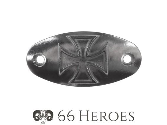 """Deckel """"Iron Cross"""" Alu poliert Sachs 50/2, 50/3, 50/4"""