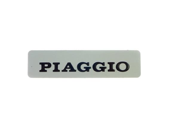 "Tankbeschriftung ""Piaggio"" Alu selbstklebend"