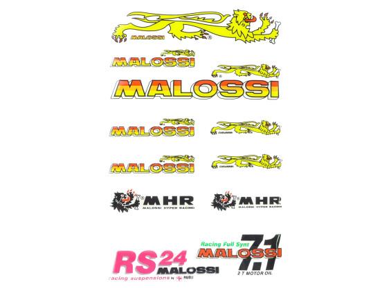 """Klebersatz """"Malossi"""" 3D Silikon, 11 Stk."""