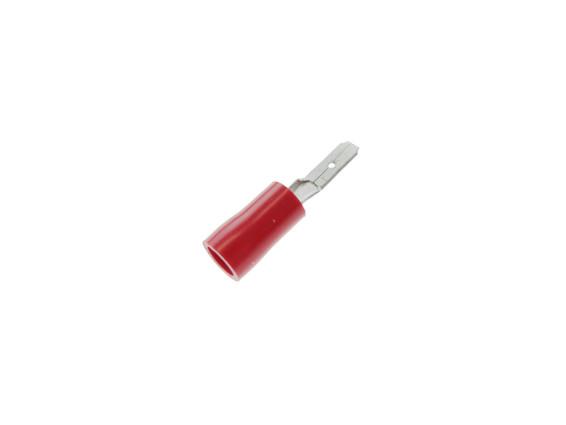 Kabelschuh Flachstecker isoliert 2.8 mm (Mann)