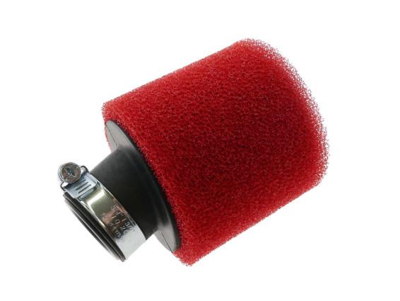 30° Luftfilter Schaum rot Ø 28/35 mm