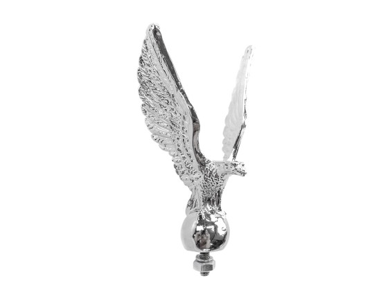 Zierfigur Adler Typ 2 Chrom