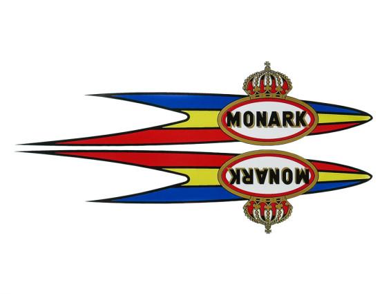Klebersatz Tank Monark