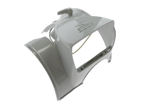 Abdeckung & Scheinwerfergehäuse Solex 3800 grau