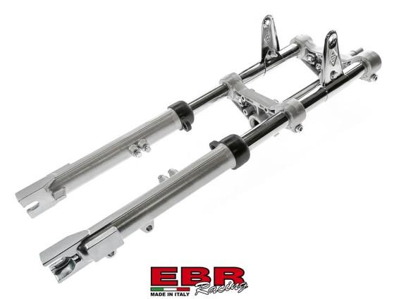 EBR Puch Teleskopgabel hydraulisch silber