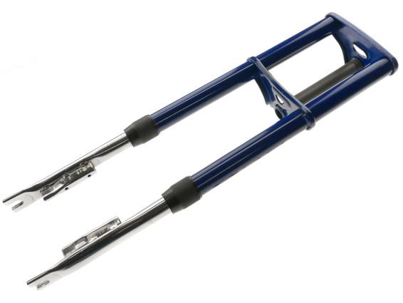Originale Puch Ur-Maxi Gabel blau NOS