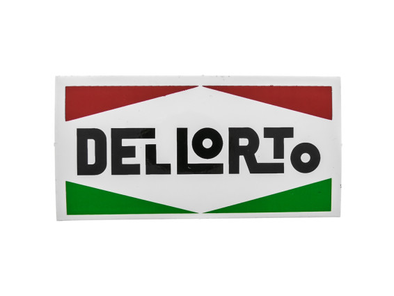 Dell'Orto Aufkleber 80 x 40 mm