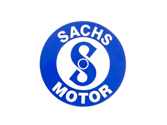 Sachs Aufkleber Tank Ø 40 mm