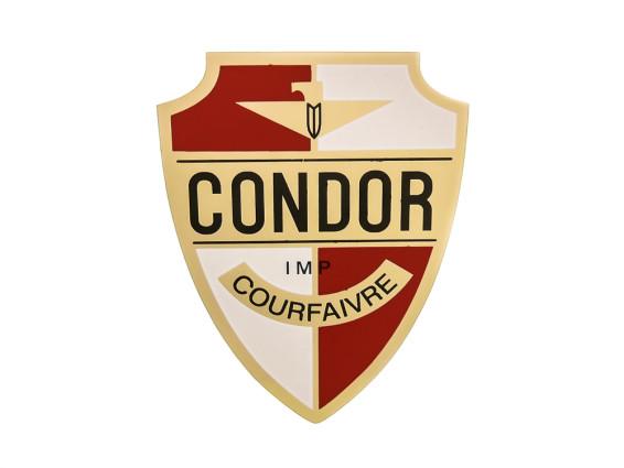 Condor Courfaivre Aufkleber Puch Steuerrohr