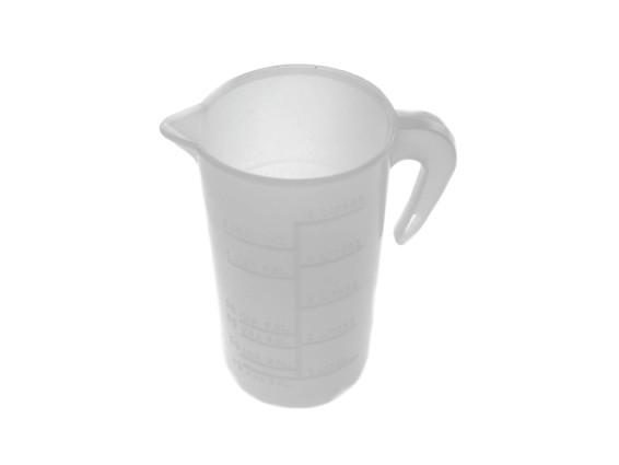 Messbecher 100 ml Öl mit Henkel (1:50)