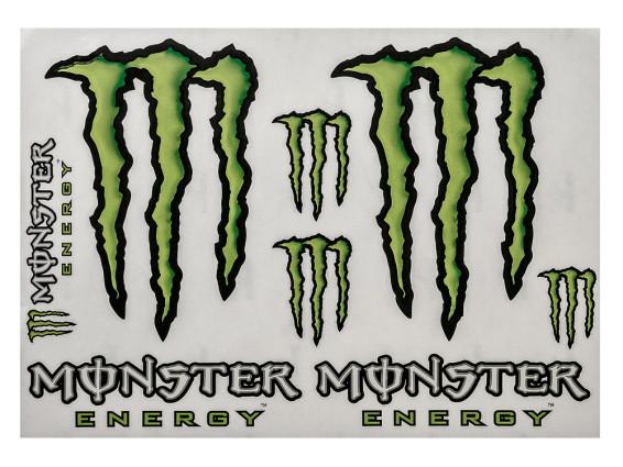 Monster Aufkleber Set 8 Stk.