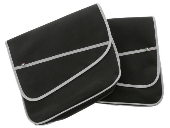 Gepäcktasche Elegance schmal schwarz