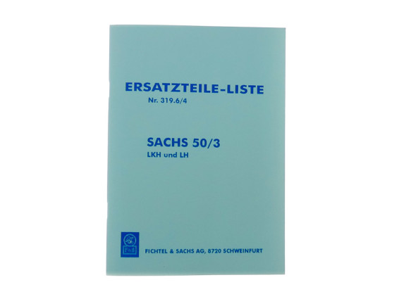 Ersatzteil-Liste Sachs 50/3 LKH, LH Motor