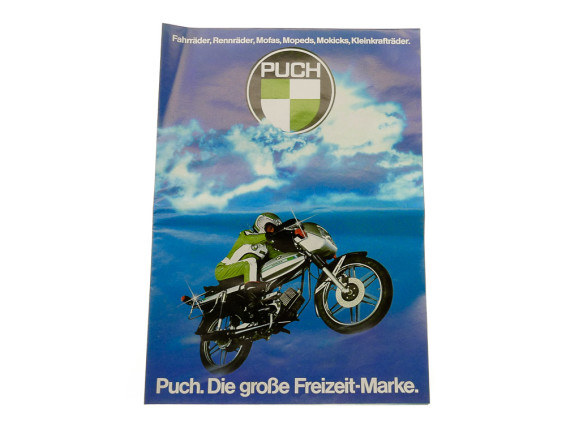 A1 Puch Poster NOS