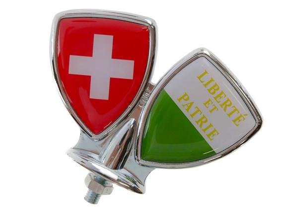 Schutzblech-Emblem Waadt