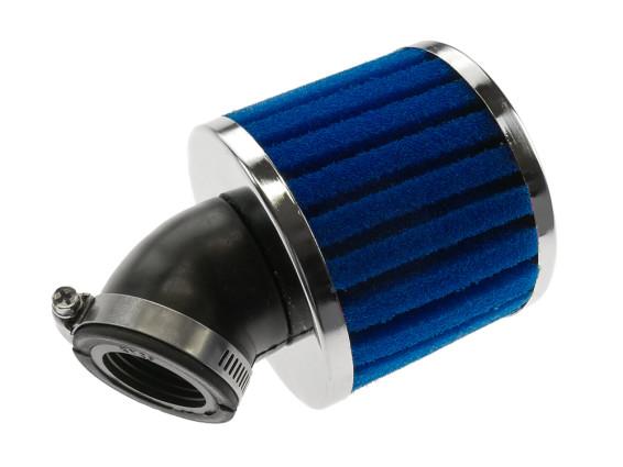 Luftfilter Schaumstoff gerillt 45° (Ø 28/35 mm)
