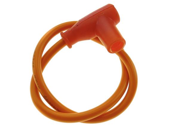 Stecker Zündkerze & Kabel orange