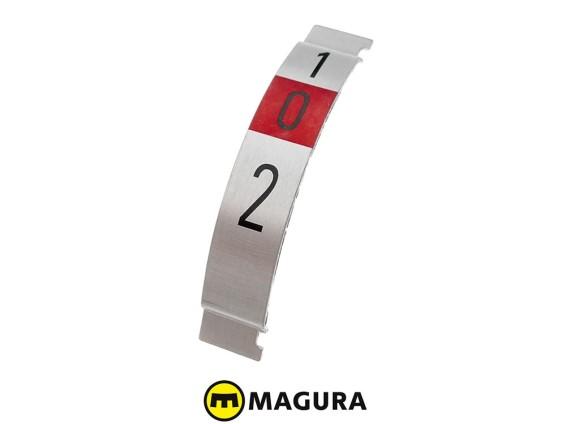 Ganganzeigeplättli 2-Gang Magura