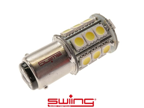 LED Birne 12V (BA15d) weiss Voll-/ Abblendlicht