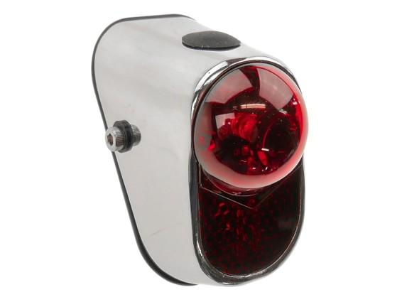 LED Retro Rücklicht oval (Batterie)