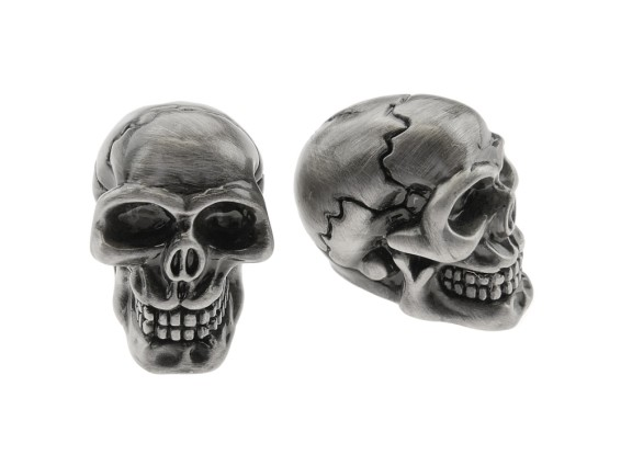 Ventilkappen Skull Custom Alu blank