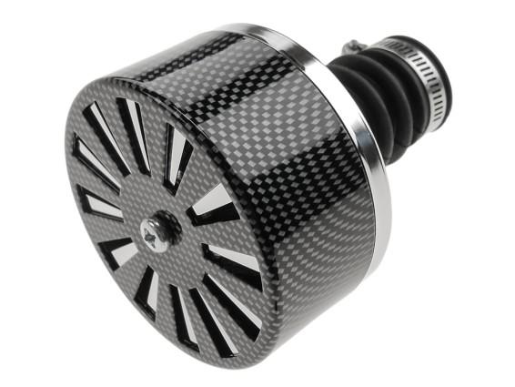 Verstellbarer Luftfilter (kleiner Anschluss - Ø20 mm)