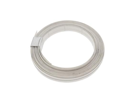 Zierlinie silber 1 mm