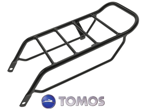 Gepäckträger Tomos schwarz