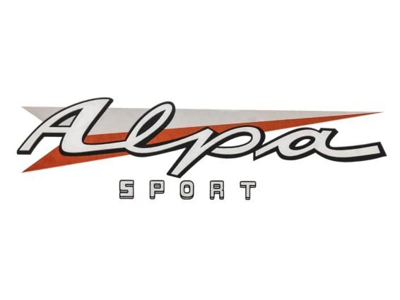 Aufkleber Alpa Sport Sachs 50/2
