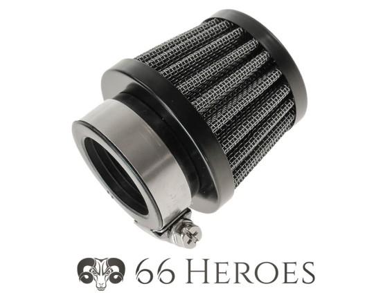 Luftfilter Pilz Gitter schwarz Dell'Orto PHBG (Ø=28 mm) 66HEROES