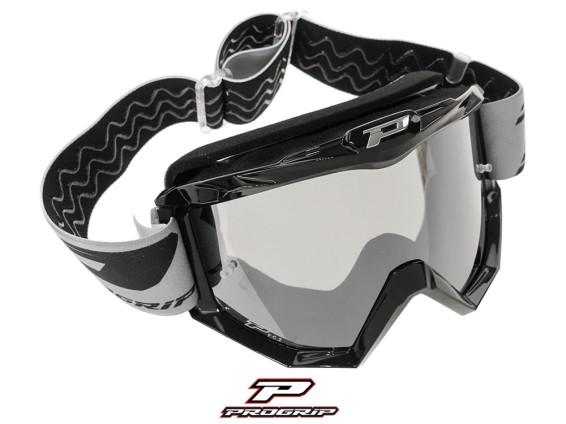 ProGrip Brille MX 3201 Raceline schwarz getönt
