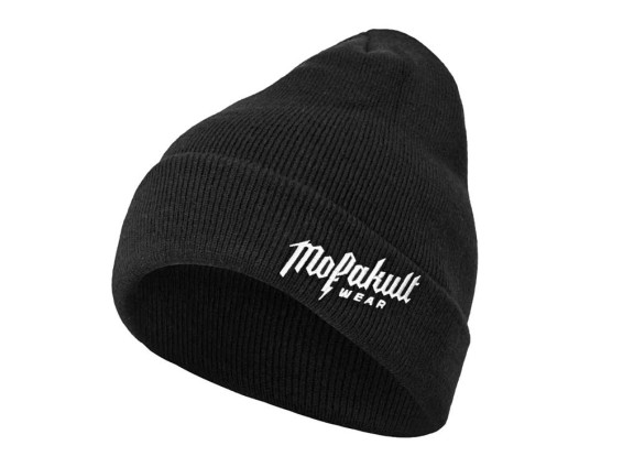 Mofakultwear Beanie Winter Black