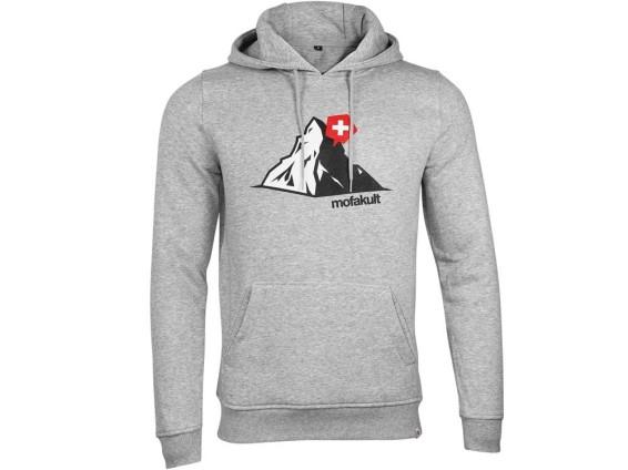 Mofakult Hoodie Matterhorn Grey Man (S - 4XL)