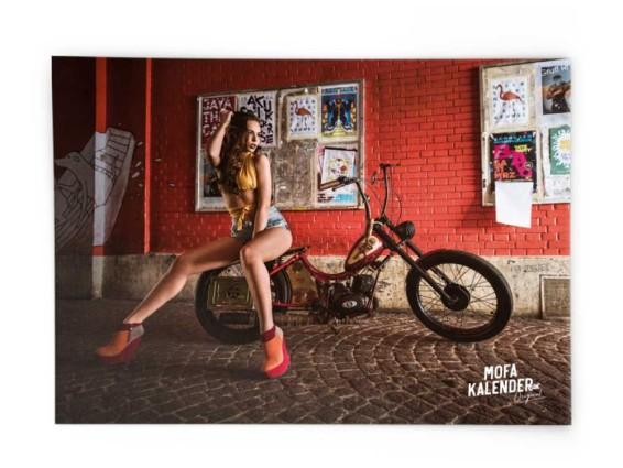 Mofakalender Poster 2019 «Chantal»